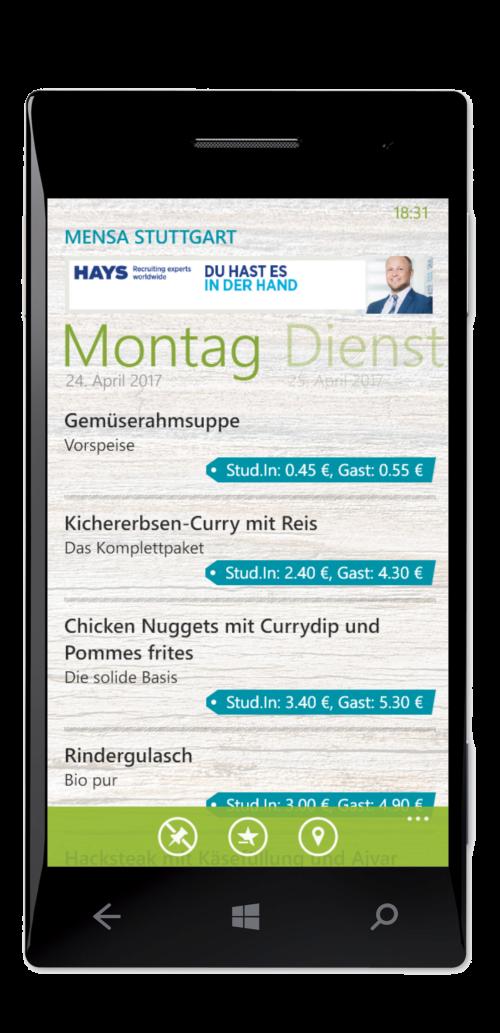Mensa Deutschland Stuttgart