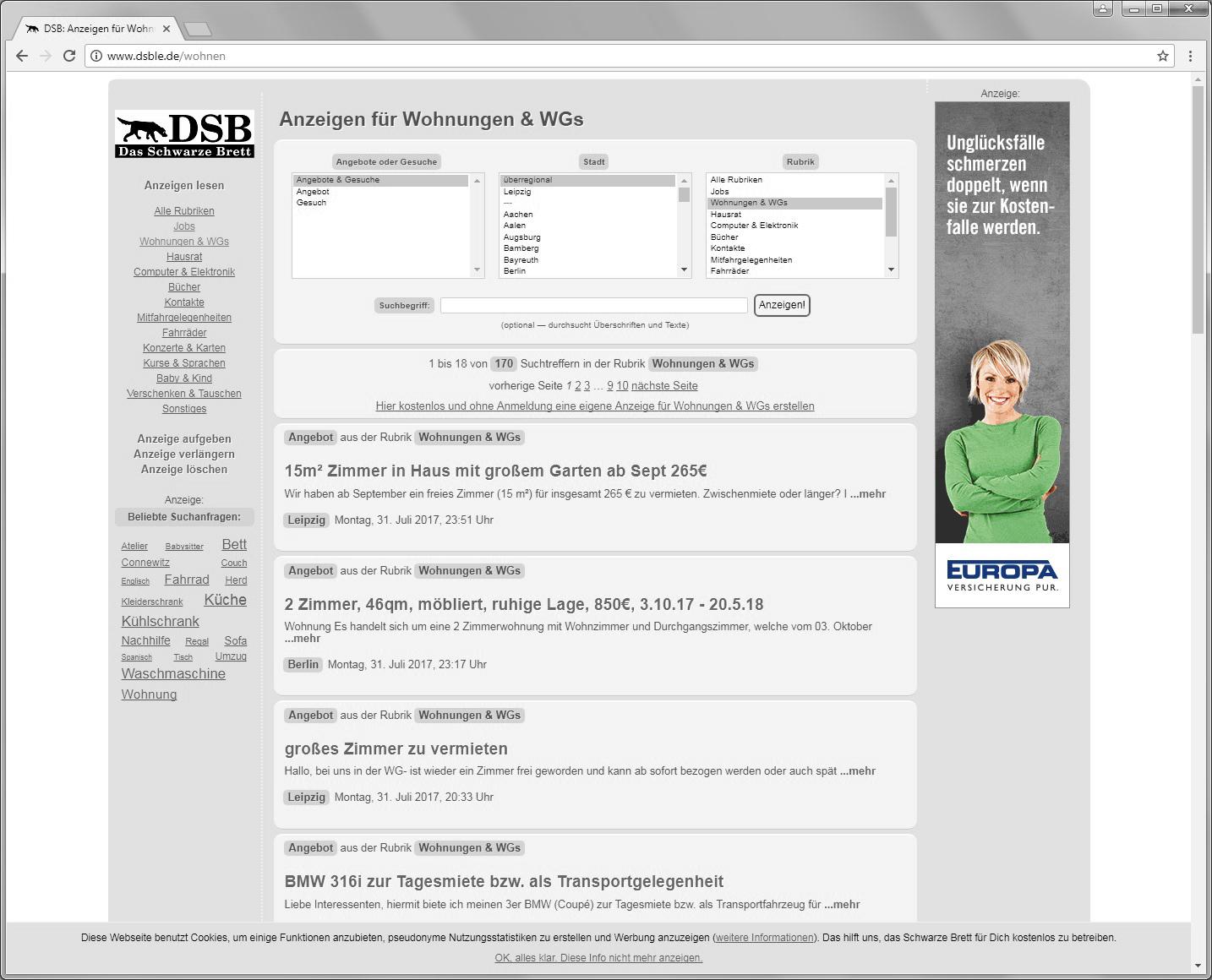 dsble.de, Online Marketing, Image Kampagne, Skyscraper