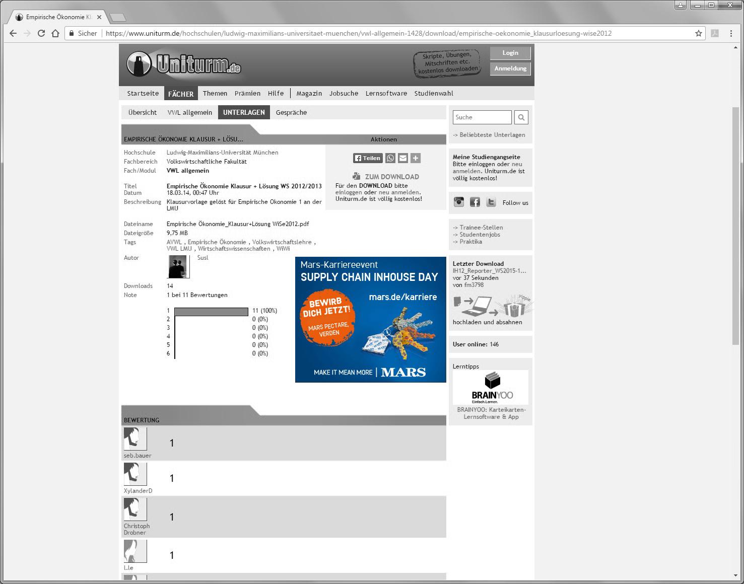 uniturm.de, Rectangle, Content Ad, Display Advertising, HR