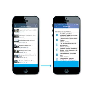 Mobile Advertising, Large Mobile Banner, Mensa Apps, Studenten Apps, Werbung